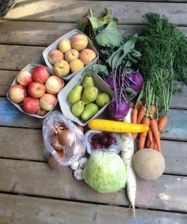 GLA veggie bounty