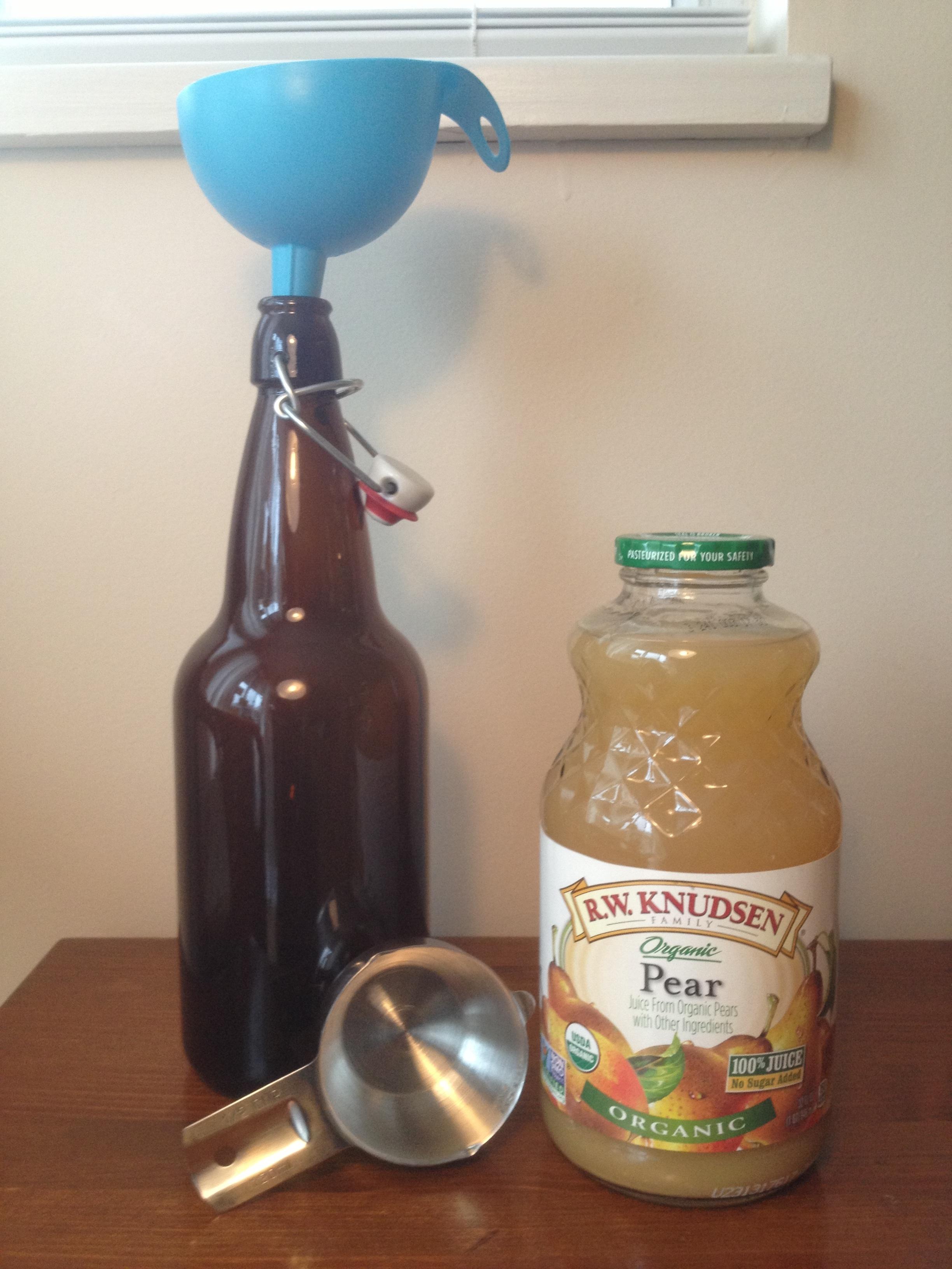 how to clean kombucha jar